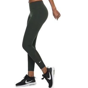 NWT Nike Sculpt Mesh High Waist Training Leggings